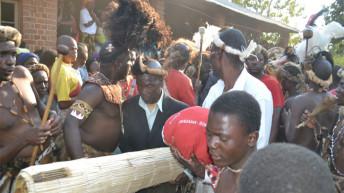 Mwambo woliza mfuti pamaliro Achingoni