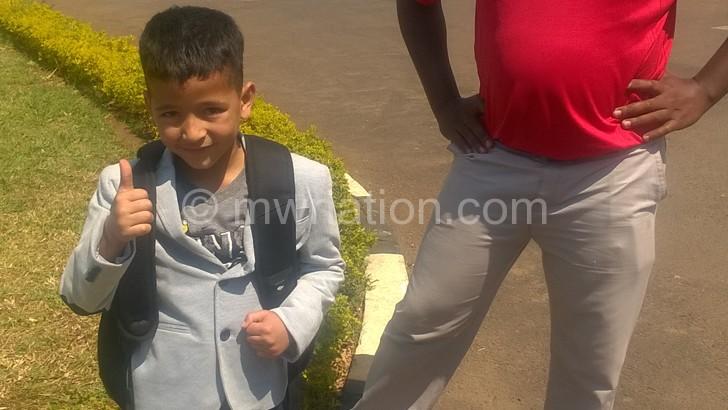 Six-year-old golfer finishesfourth in Zambia tourney