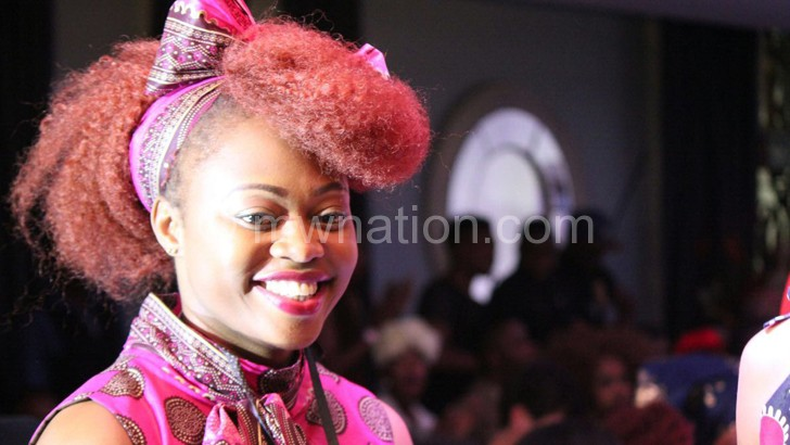 Donga:  My designs are trendy as I mix polka dots and chitenje