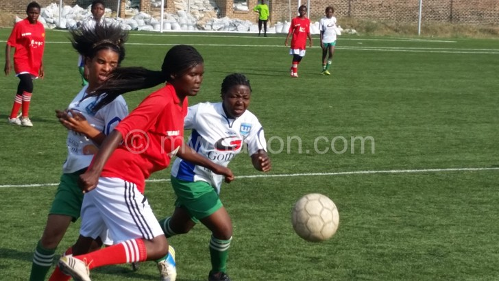 Women football coaches used regional games such as this to identify talent