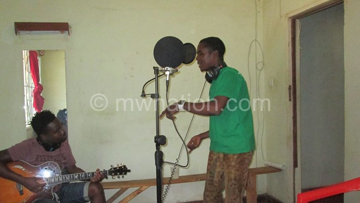 Some of the local musicians who were recorded in Karonga