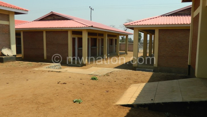 Mbulumbuzi Market is one of the projects funded by LDF yet to be opened