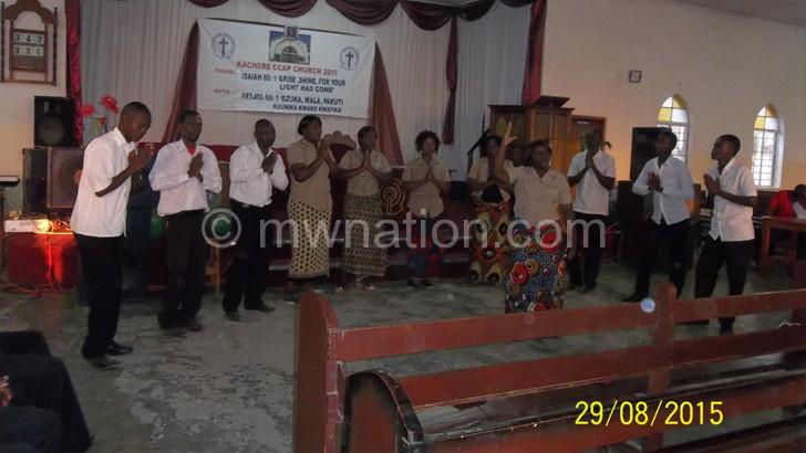 Visiting Mangochi choir  impresses hosts Kachere