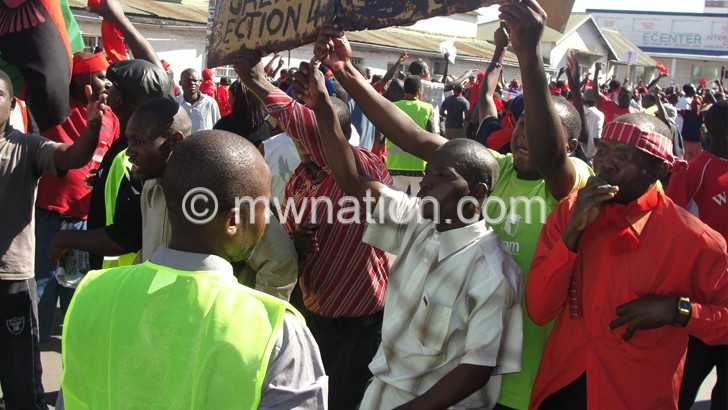 CSOs helped organise the July 20 2011 demonstrations against the DPP regime
