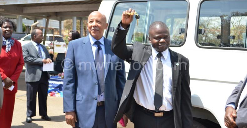 Minister of Health Dr Peter Kumpalume