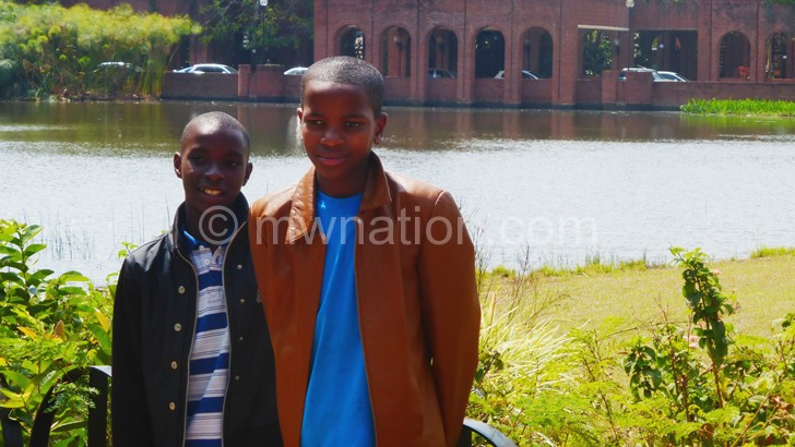 Eric and Norman are now at Kamuzu Academy