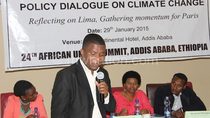 Africa not experimental ground for climate change solutions