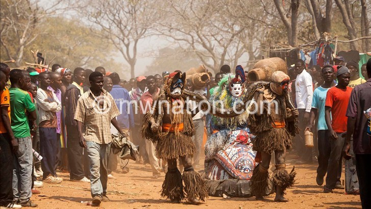 How much is being done to promote and preserve the country's cultural dances, such as the gule wamkulu