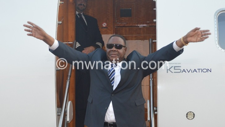 Mutharika: Government taking serious steps