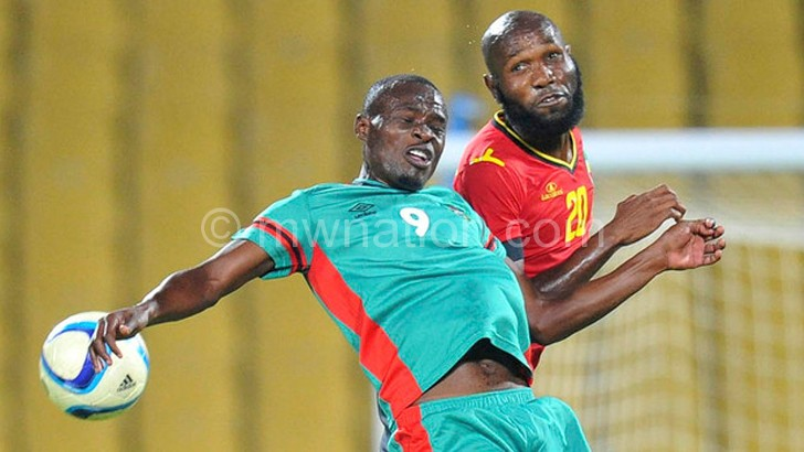 Sulumba doubtful for swaziland game