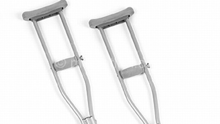 Some people with disabilities use  crutches such a these