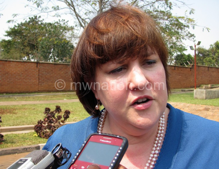 Vickers: We are still discussing with Malawi