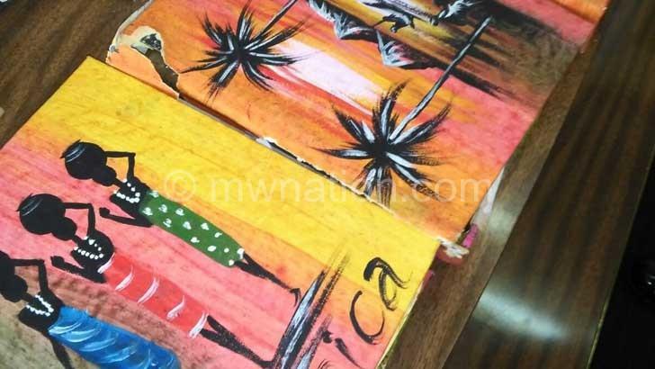 The fine art books where where chamba was hidden