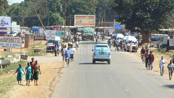 Targetted: The Malawi-Zambia  border in Mchinji