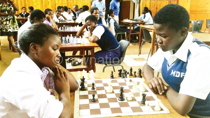 Primary school chess players such as these have an opportunity