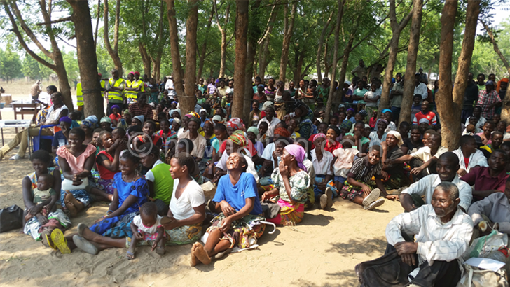 Chikwawa- flood victims hit by drought this year ready for relief aid