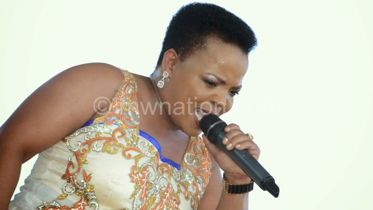 South African gospel diva Rabecca Malope will perform at the festival tomorrow