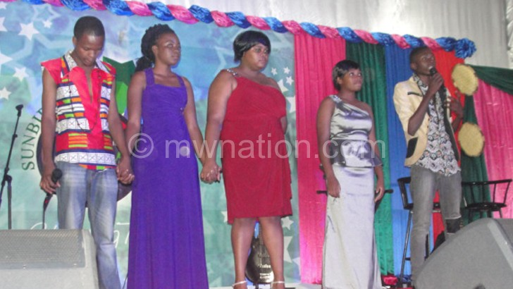 Contestant will perform live with the backing of Malimba Band