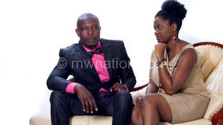 Choices stars Ashukire Mwakisulu (L) and Mwai Simbota