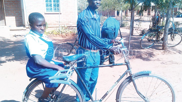 Cycling for Falesi's future