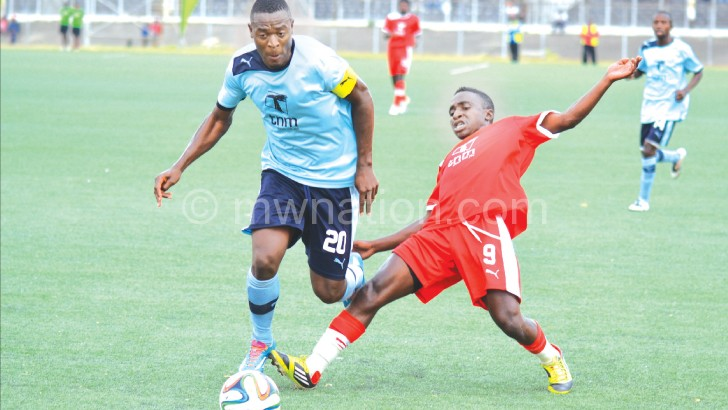 Malata (L) has been on Mozambique side's radar