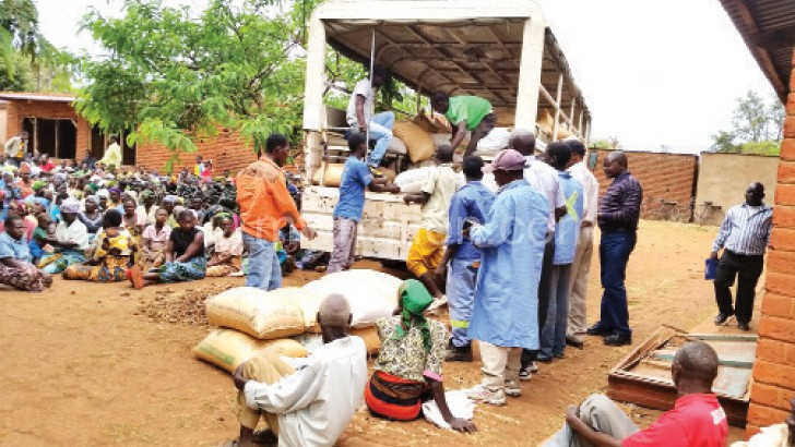 Maize is a much sought after commodity on the market