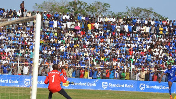 Civo Stadium was filled to capacity during the Standard Bank Knockout final