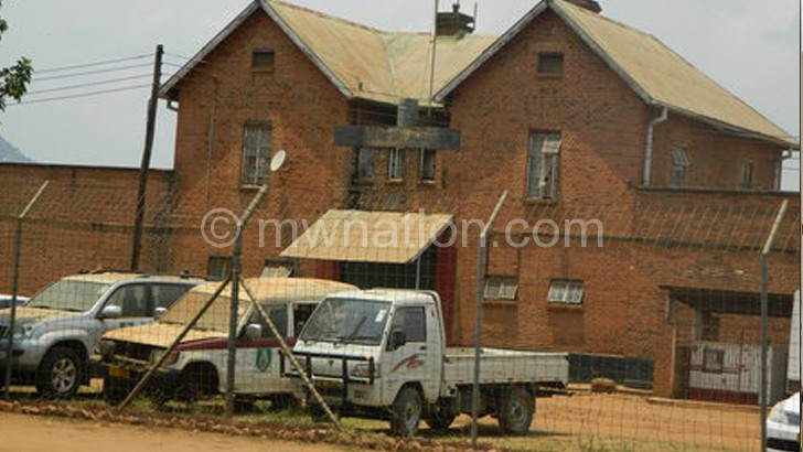 Not ideal for raising children: Zomba Central Prison