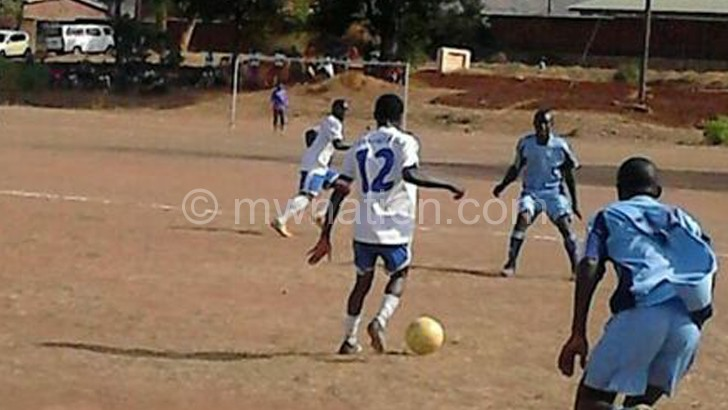 Action in a recent SRFA league game
