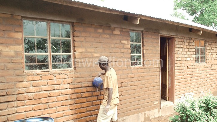 One of the houses built under the Malata Subsidy Programme