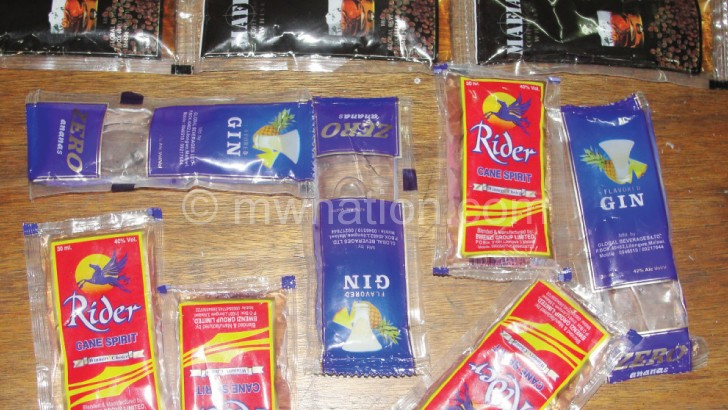 Some want sachets such as these banned