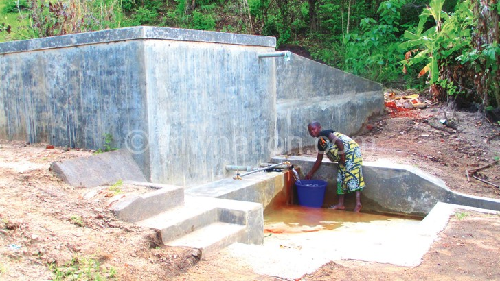 Vunganthenda water source is now safe for human use