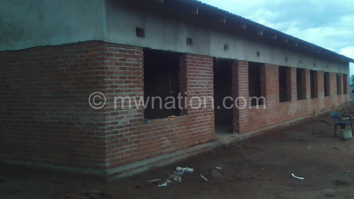 Chisitu Maternity Wing nears completion