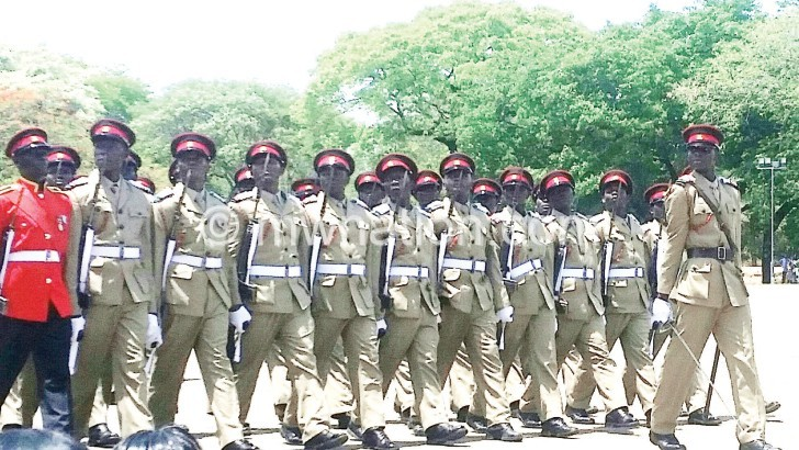 Mutharika commissions 45 new MDF officers