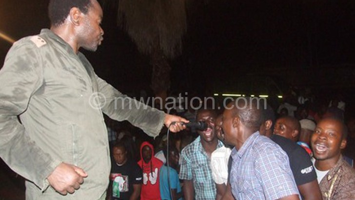 Nkasa interacts with partons in Mzuzu