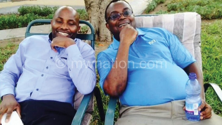 Mijiga (L) and Yabwanya-Phiri have been suspended for one year
