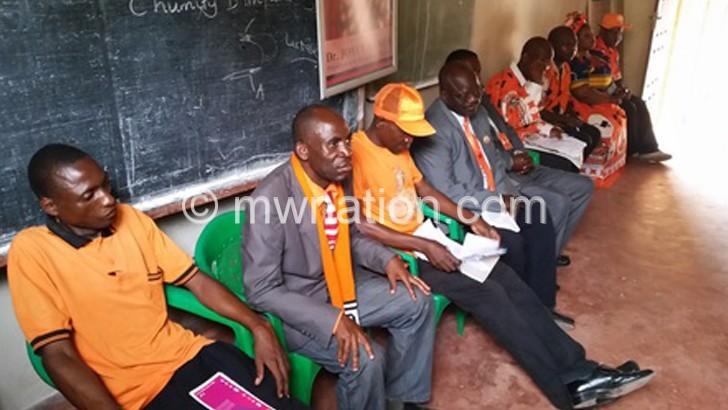PP leaders during their meeting