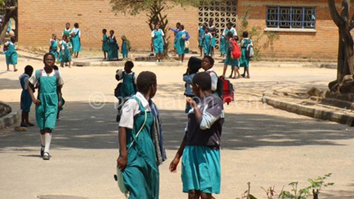 Girls are being encouraged to stay in school