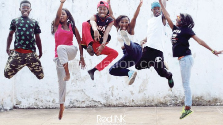 A video shoot of the Twist Dance Crew