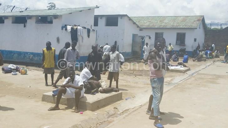 Gloomy mood at Mzuzu Prison