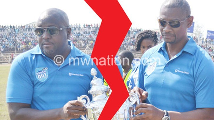 Standard bank  Withdraws cup