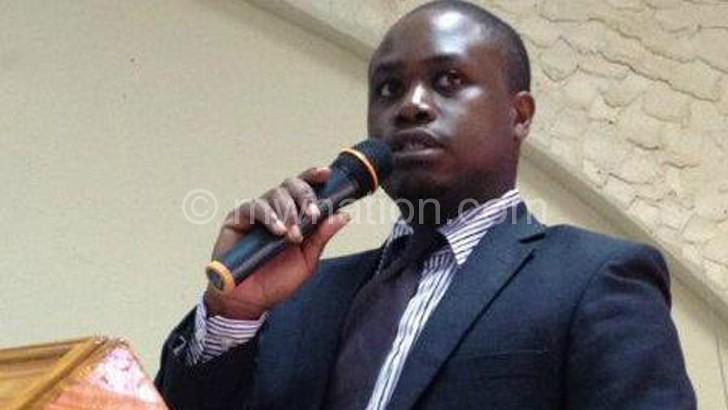 Ecam chief executive officer Beyani Munthali