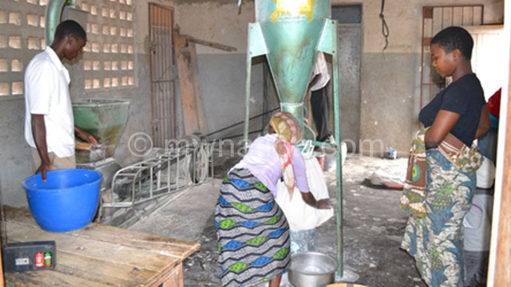 Businesspeople can use assets such as a maize mill to get a loan from commercial banks