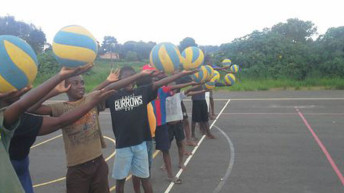 VAM trains 10 volleyball coaches