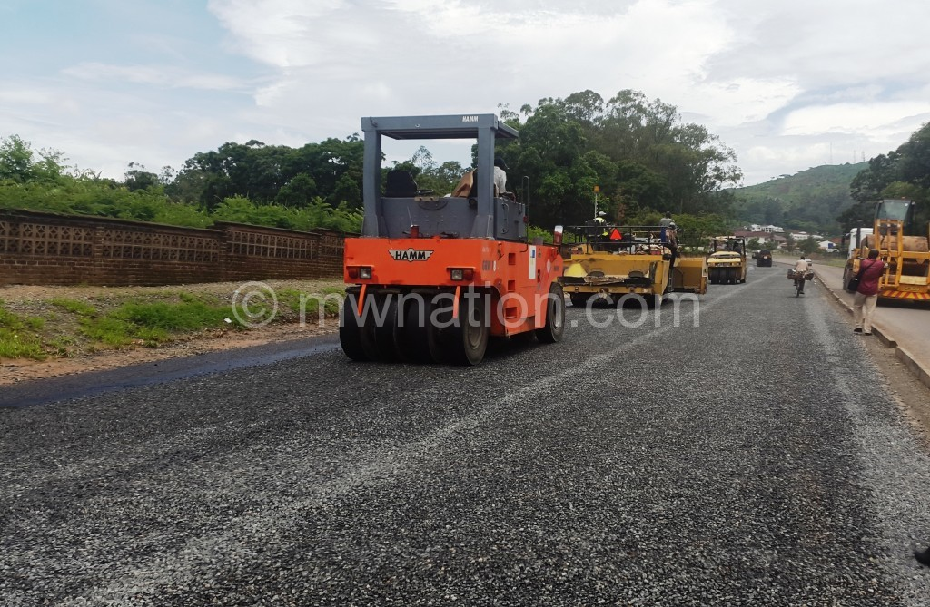 Dropped: Development support for road projects went down