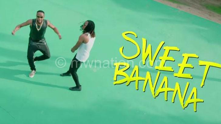 Video grab of Dan Lu and KCee in Sweet Banana