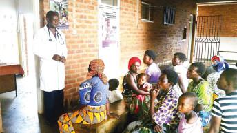 When a health centre has light