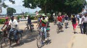Bicycle taxis the way  to go in Malawi