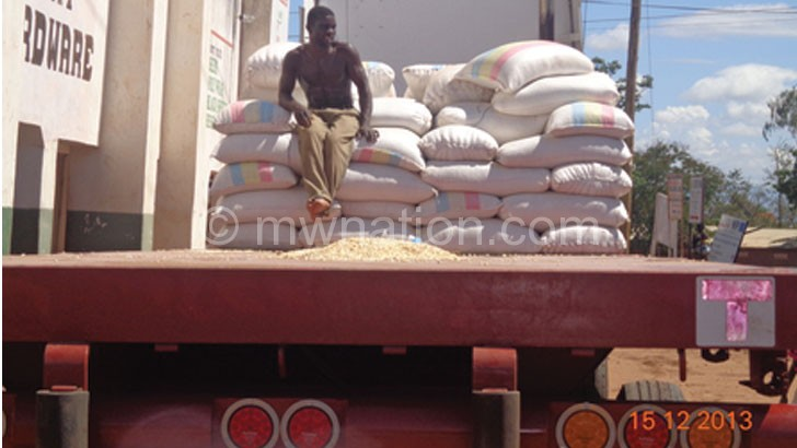 Agro-processing firms largely depend on maize for their production