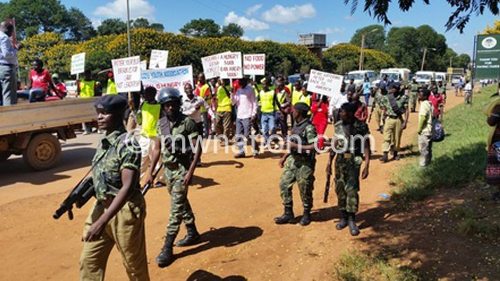 Mzuzu youth give APM 21 days to address hunger situation